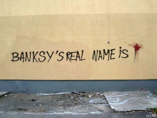 Banksys real name is ...Splat? #graffiti | Street art ...