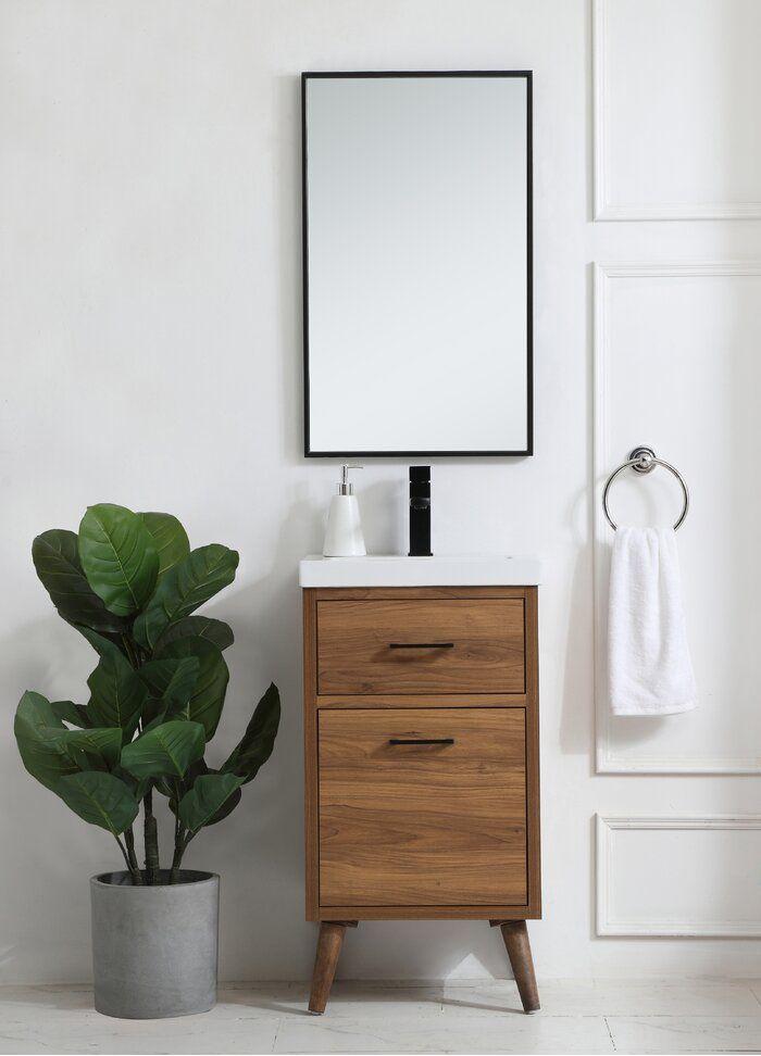 Joel 18 Single Bathroom Vanity Set Single Bathroom Vanity 18 Bathroom Vanity Small Bathroom Vanities