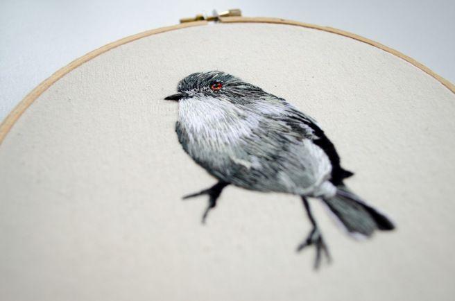 Diucón (hand embroidery)
