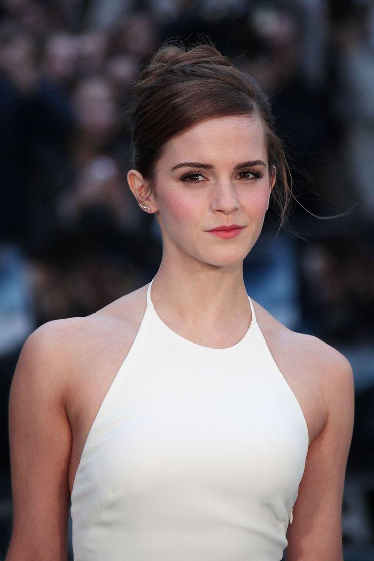 Emma Watson at the London premiere of 'Noah'