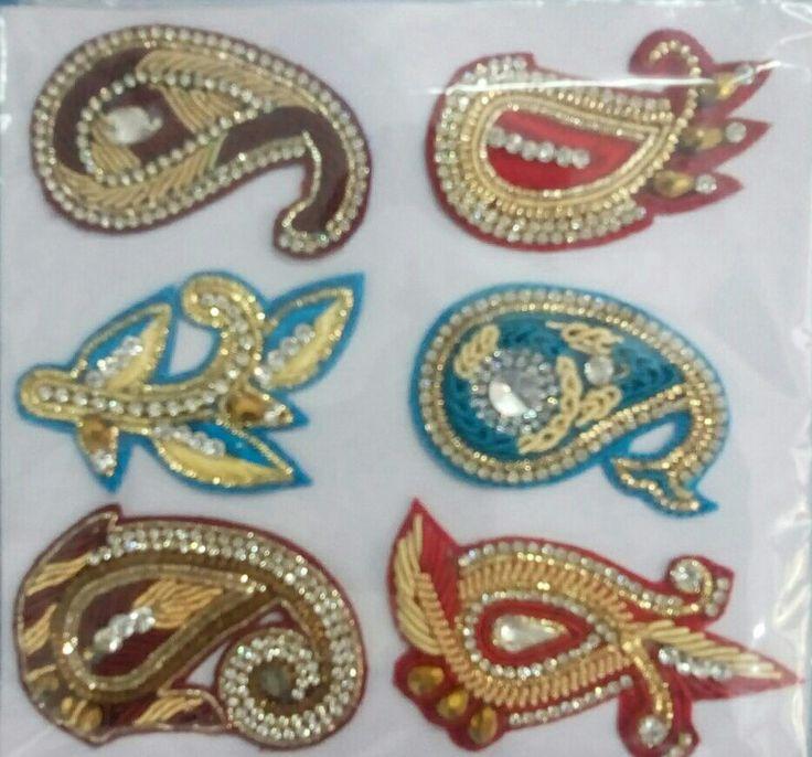 Zari work embroidery designs makaroka