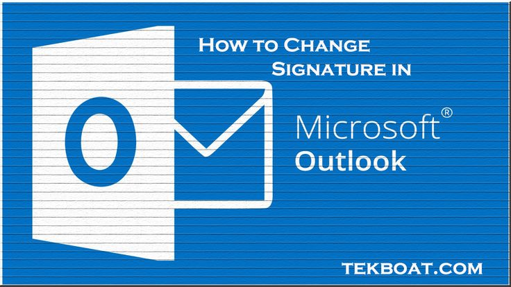 how to change Signature in Outlook 365 in windows and Mac