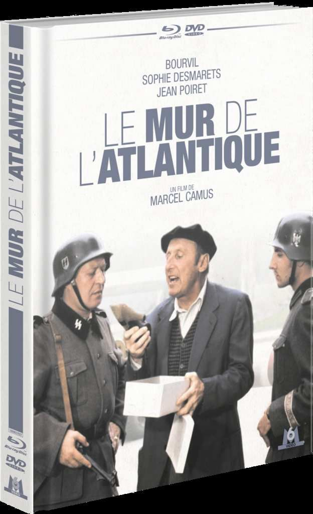 #LeMurDeLAtlantique comédie teintée de nostalgie pour ce qui restera comme le dernier film de l'immense #Bourvil #JeanPoiret #M6Video