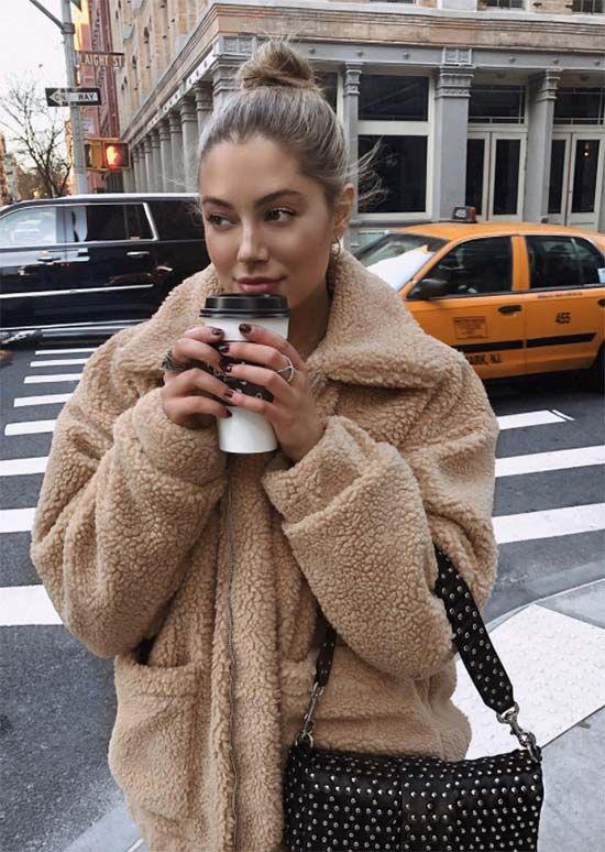 9 Cozy Teddy Bear Mäntel, um diesen Winter zu kuscheln: Wie man Teddy Coats trägt