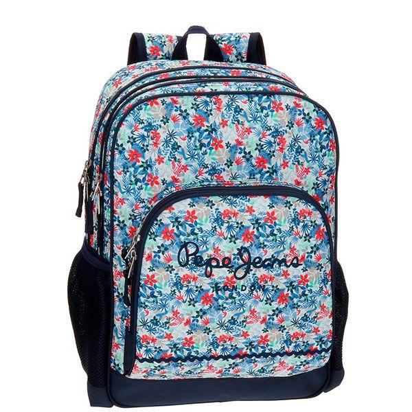 Pepe Jeans Σχολική Τσάντα 2 θέσεων Bella