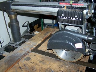Picture of Radial Arm Saw Table Alignment -- An Easier Way
