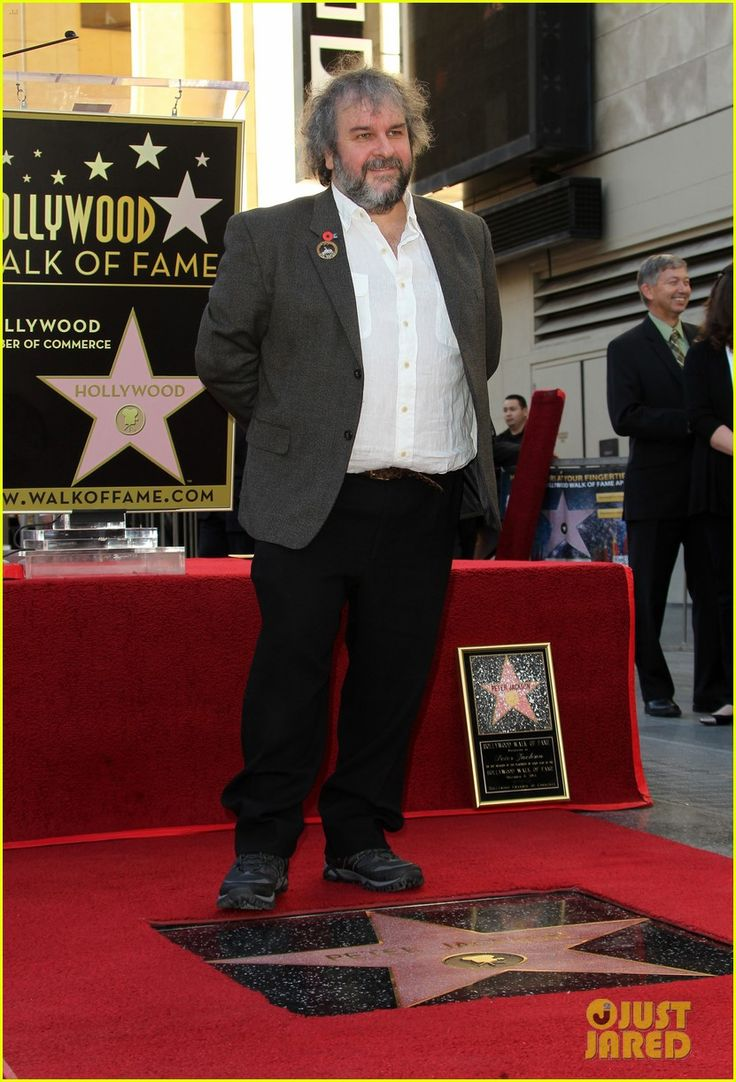 Director Peter Jackson For His Big Moment!