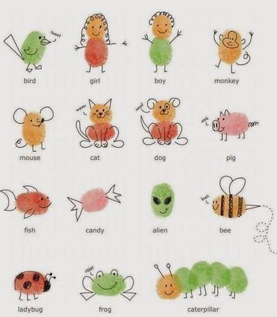 Sehe dir das Foto von Kunstfan mit dem Titel Schöne Karten basteln mit den Kindern mit Fingerabdrücken und andere inspirierende Bilder auf Spaaz.de an.