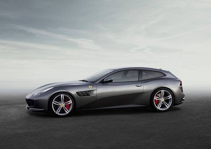 ferrari integrates rear-wheel steering with four wheel drive system in the GTC4Lusso