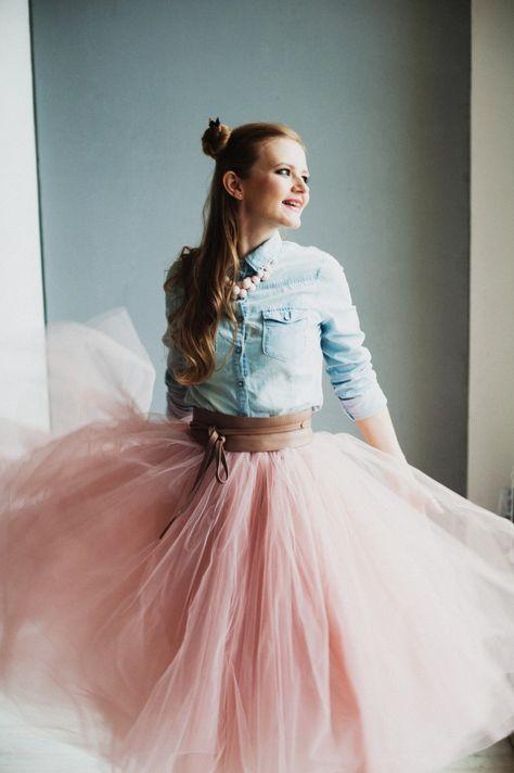 Пачка, шопенка, балетная, юбка из фатина - как только ее не называют. В такой юбке вы точно не останетесь незамеченной, а для ее изготовления надо не так уж и много:…