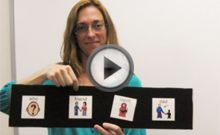 One hour webinar showing effective access to communication and literacy for students with visual and multiple handicaps.