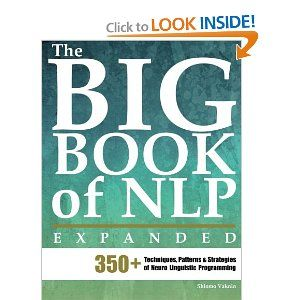 """""""A short NLP seminar will cost you at least $4,500. In this book you invest less than $0.25 per NLP technique, that can literally change your life. That's a bargain!"""" --Thomas Landmark, Revolucni NLP      828 pages of practical NLP.      At last, a concise encyclopedia of NLP patterns! $66.45"""