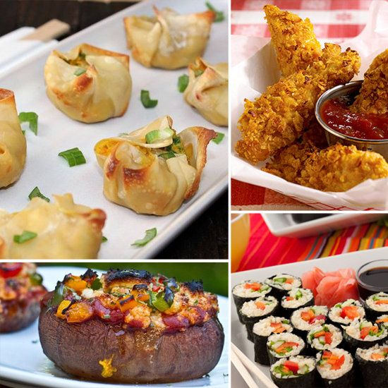 13 healthy, homemade versions of take-out food....def trying the crab rangoon!