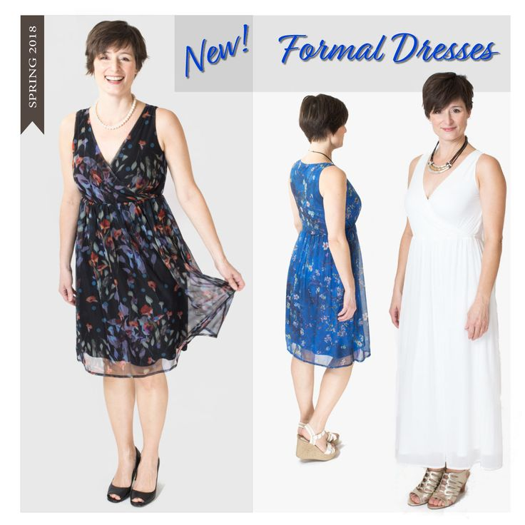 Perfect for a wedding, party, or date night out, our new formal dresses featuring COMFY 95% Bamboo lining are now in stores!