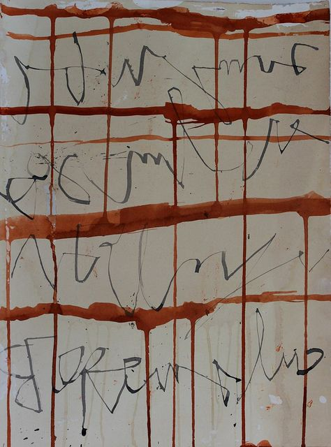 Jane Cornwell | Asemic Writing