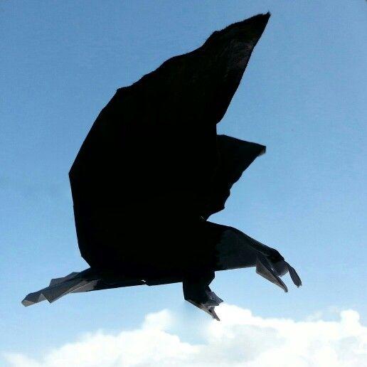 Eagle bold eagle origami by 'delice'