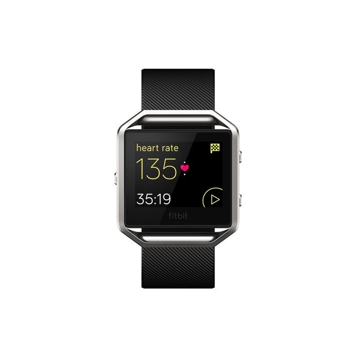 The Fitbit Blaze is Fitbit's first entry into the smartwatch arena. Looking like a cross between the Apple Watch and previous Fitbit models, as the name and manufacturer suggest, this Smartwatch's main role is to help you smash your fitness goals. A smart fitness watch that helps you maximize every