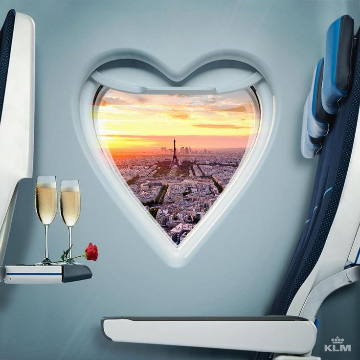 KLM A lovely view today! #valentine #klm #amsterdam #schiphol