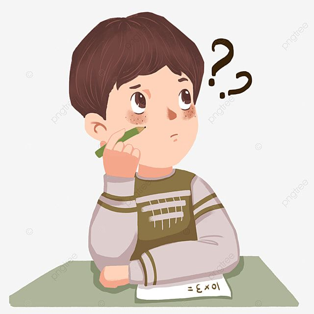 Student Learn Write Homework Thinking About The Problem Writing Clipart Thinking Cartoon Png Transparent Clipart Image And Psd File For Free Download Writing Cartoons Writing Clipart Student Learning