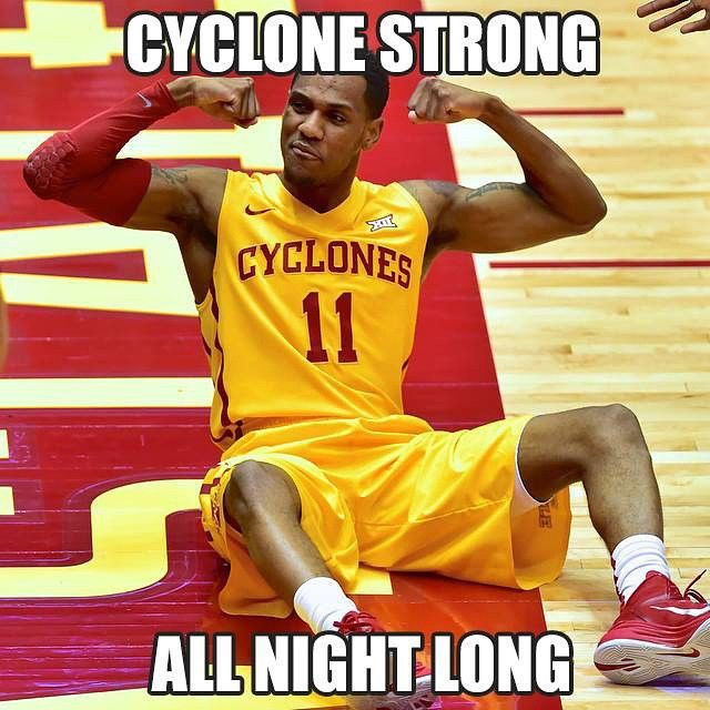 Cyclone Strong... All Night Long. Iowa State Cyclones.