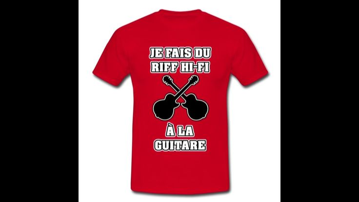 23 T-shirts pour les GUITARISTES, à s'offrir ici : https://shop.spreadshirt.fr/jeux-de-mots-francois-ville/guitare #GuitareElectrique #GuitarHero #metal #GuitareClassique #rock #riff #guitare #humour #drôle #musicien #guitariste #fender #ibanez #musique #GuitareAcoustique #concert #gibson #Tshirts #spreadshirt https://youtu.be/3qPT5JTgi5w