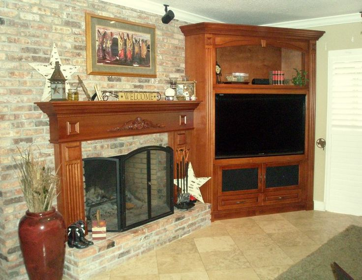 Entertainment Centers With Fireplace For Flat Screen Tvs Woodworking Projects Plans