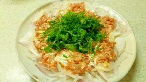紫玉ねぎの一番旨い食べ方、絶品スライスサラダ レシピ・作り方 by kokちゃん|楽天レシピ