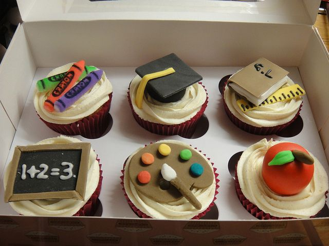 Classroom cupcakes.  We don't have food in our class this year - but OH do I love these!!!