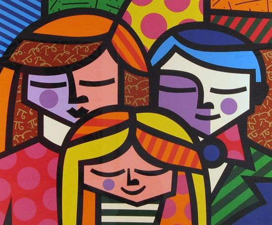 ROMERO BRITTO http://www.widewalls.ch/artist/romero-britto/ #popart