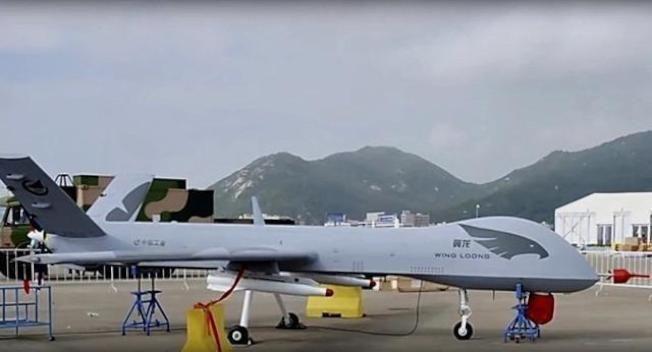 中國翼龍無人機。圖/取自環球網