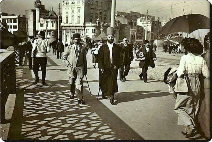 Galata köprüsü - 1920'ler