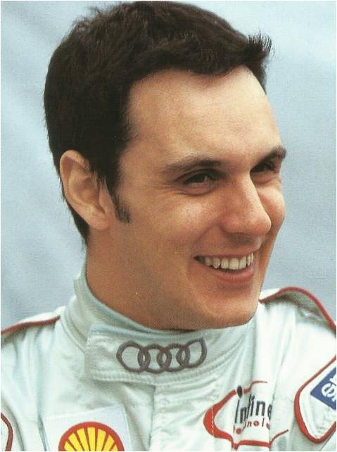 Laurent Aiello,Audi driver, Winner of Le Mans 24 Hours race.