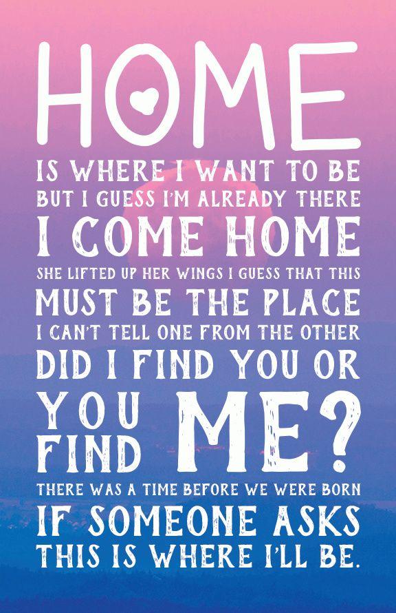Song Lyrics Poster - Talking Heads- Naive Melody