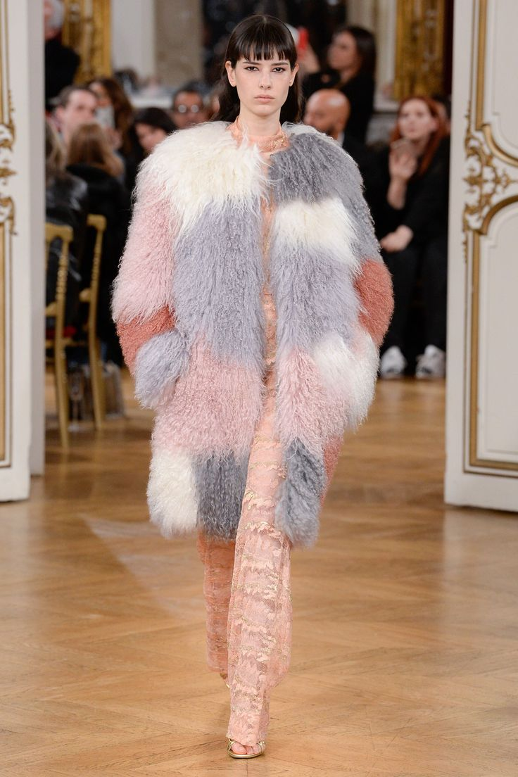 Image result for multicolored fur coats fall/winter 2017
