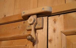 17 Images About Wooden Latches Hinges On Pinterest