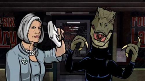 TIL There's a Raptor version of Archer Season 1 - Imgur