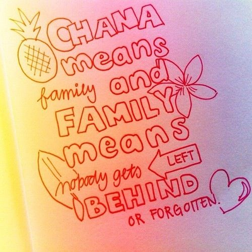 Ohana Means Family Quote Tattoo: 103 Best Images About Hawaii On Pinterest