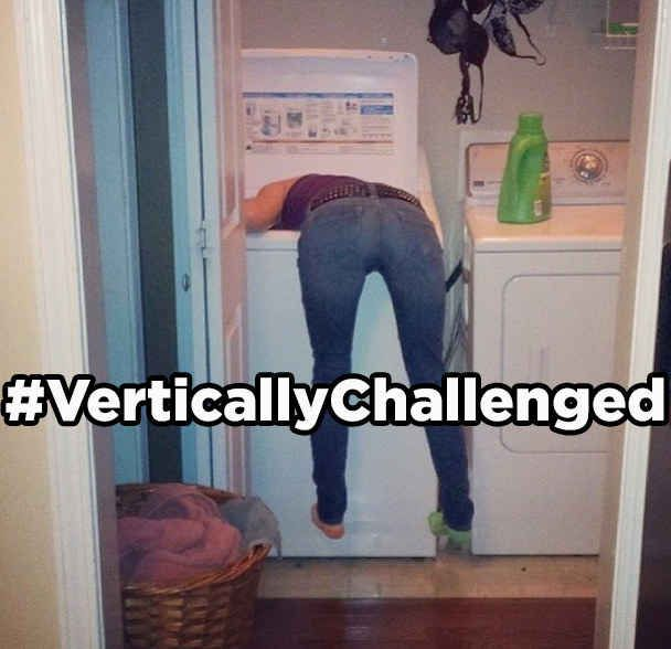 19 Hashtags Short People Actually Need -- I made someone double over laughing at this one time at work