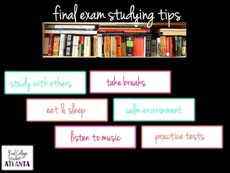 final exam tips It's that time of year again—nursing students nationwide are frantically cramming for their final exams in nursing school with all of the sleepless nights and last-minute cram sessions, figuring out the best ways to approach studying can prove to be overwhelming.