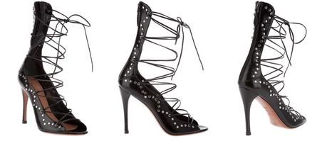 azzedine alaia sandals | The Object of My Affection - Alaïa Lace-up Sandals - Paperblog