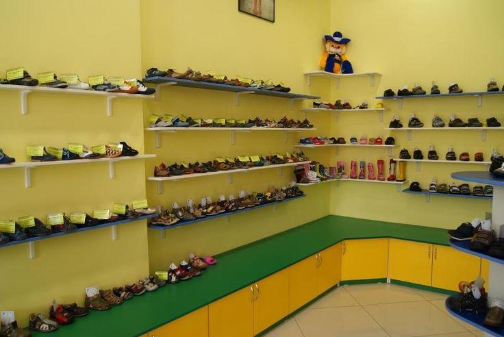 Открытый стеллаж под обувь