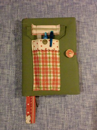 Mimi's - Capa para Agenda em tecido Mimi's Notebook cover in fabric