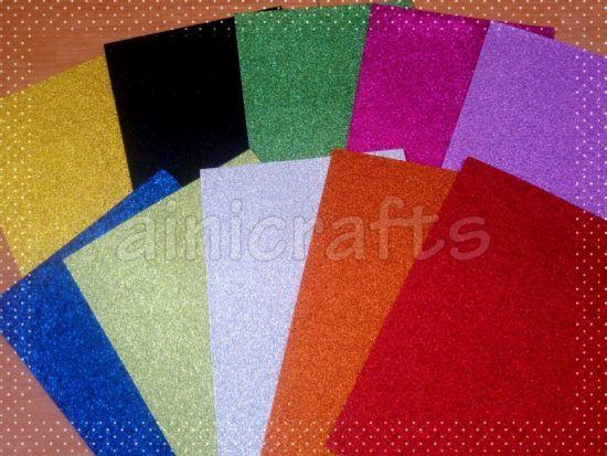 Foam Art Glitter