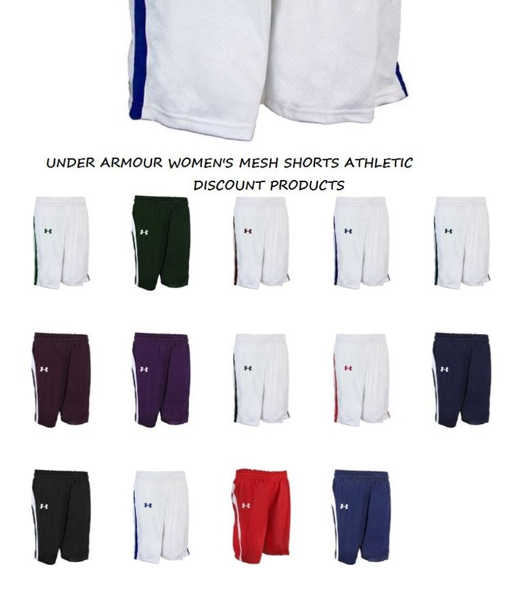 "Under Armour Women's Mesh Athletic Shorts ""Sale"" (Size: S - 2XL)"