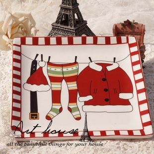Santa suit hanging platter