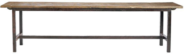 Nordal+Raw+Benk+-+Lengde+170+cm+-+Denne+moderne+benk+er+dansk+design.+Benkens+sete+er+fremstilt+av+massivt+mørkt+tre+og+er+behagelig+å+sitte+på.+Det+organiske+materialet+gjør+at+hver+benk+er+helt+unik.+Stellet+er+laget+av+material,+hvilket+skaper+en+flott+og+moderne+kontrast+til+tresetet.+Benken+finnes+også+i+en+kortere+lengde.+