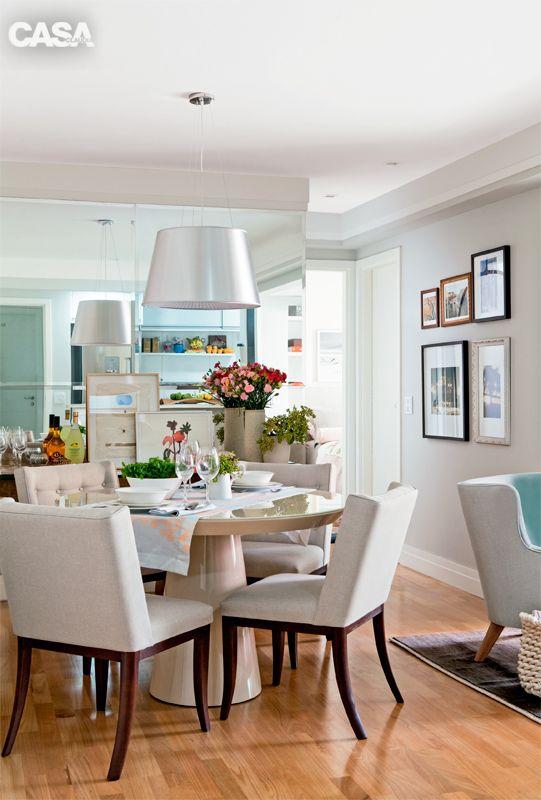 Apartamento de 70 m² tem decoração ultrafeminina - Casa