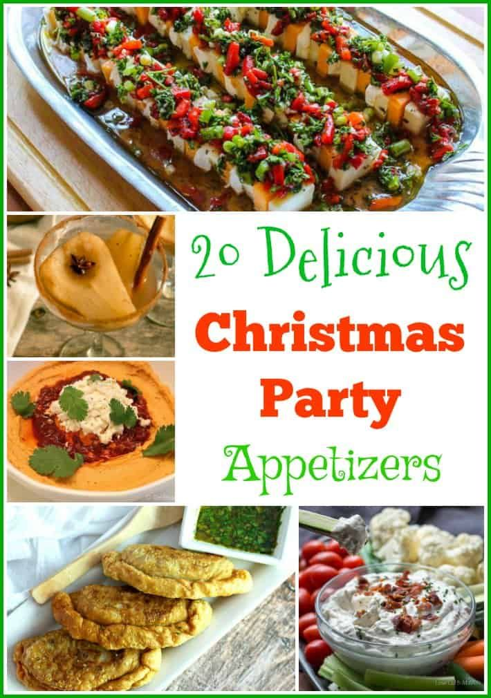 20 Delicious Christmas Party Appetizers Christmas party food