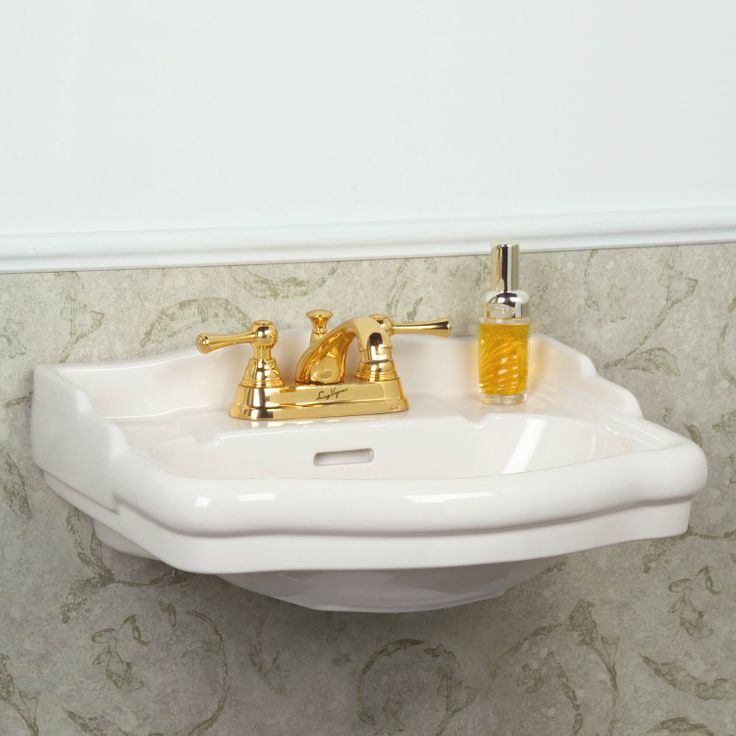Best Ideas For The Master Bath Images On Pinterest Ada - Small wall mounted bathroom sinks for bathroom decor ideas