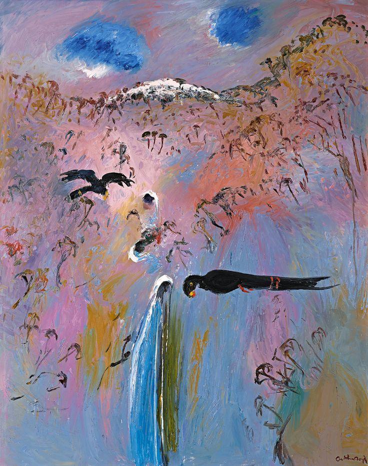 Arthur Boyd 1920-1999. 'Magic Flute 1V' 1990.   - Australian Art.